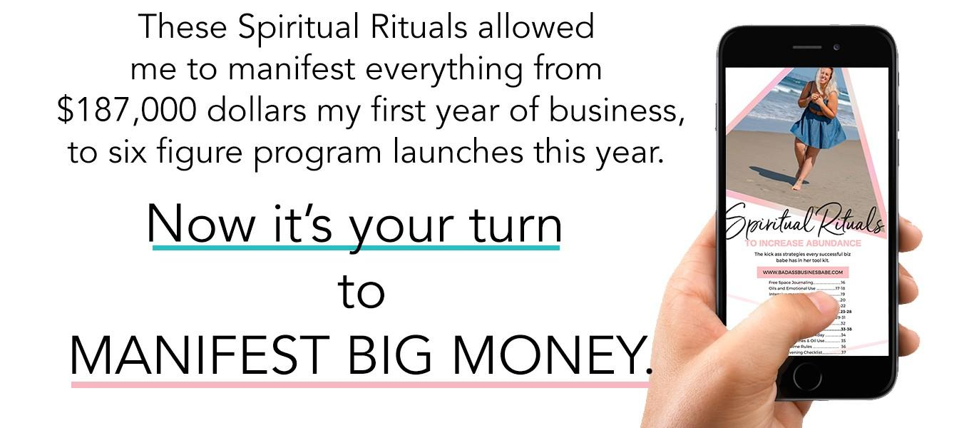 Spritual Rituals to Increase Abundance in your biz