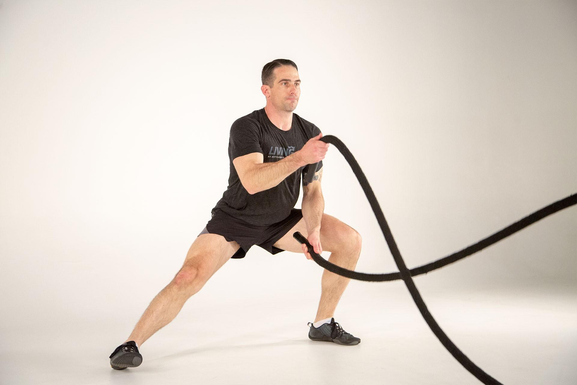 Image result for living fit battle rope