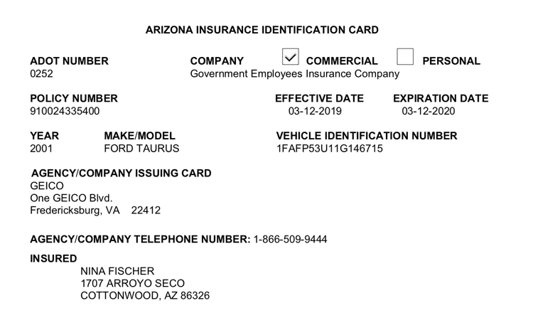 Arizona Licensing