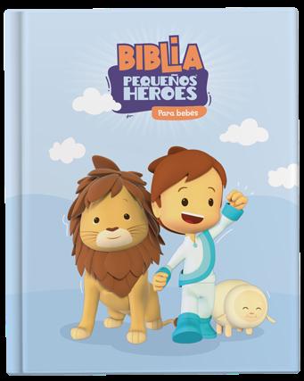 Biblia Pequeños Héroes para Bebés
