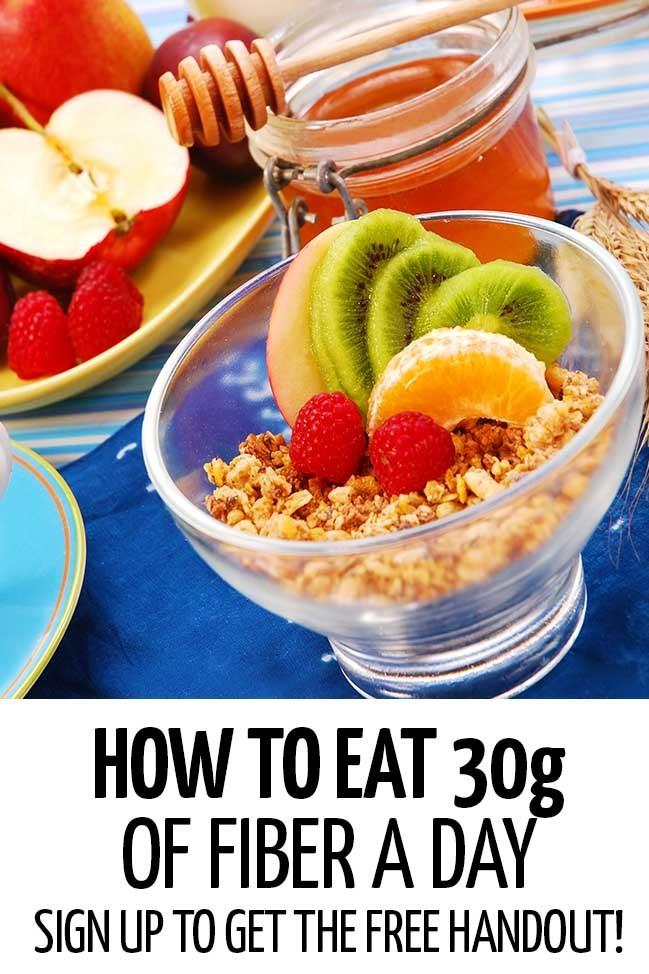 How to Eat 30g of Fiber a Day