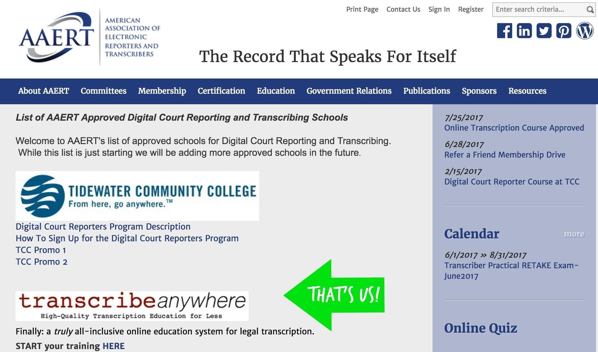 All-Inclusive Online Course in General Transcription